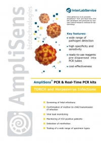 AmpliSens® PCR & Real-Time PCR kits TORCH and Herpesvirus Infections