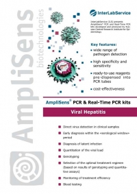 AmpliSens® PCR & Real-Time PCR kits Viral Hepatitis