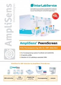 AmpliSens® PeeroScreen PCR/Pyrosequencing kits for SNP detection